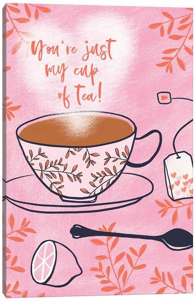 My Cup Of Tea Canvas Art Print