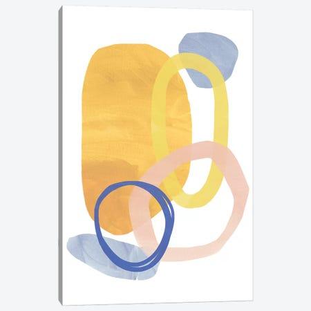 Shaping Up II Canvas Print #NHA37} by Nadia Hassan Canvas Wall Art