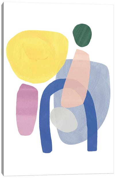 Shaping Up VI Canvas Art Print