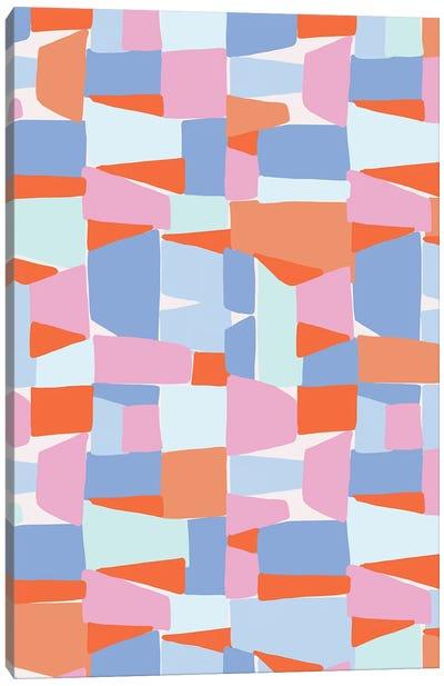 Shape Shifter V Canvas Art Print