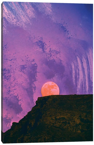 Fury Of Neptune Canvas Art Print