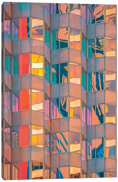 Prismatic Pillars Canvas Art Print