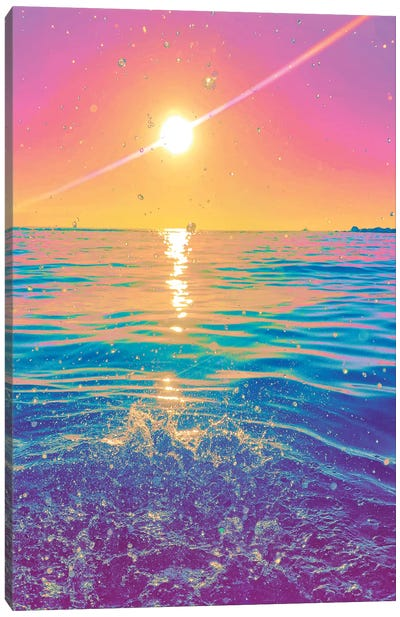 Sun Shower Canvas Art Print