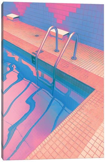 Sunset Spa Canvas Art Print