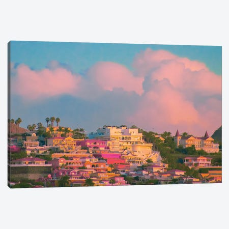 The Hanging Gardens Canvas Print #NHE56} by Nathan Head Canvas Wall Art