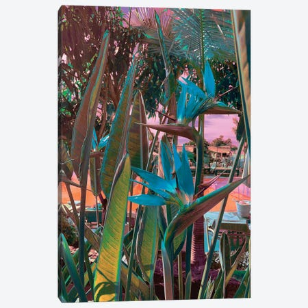 Ultra Tropical 3-Piece Canvas #NHE64} by Nathan Head Canvas Print