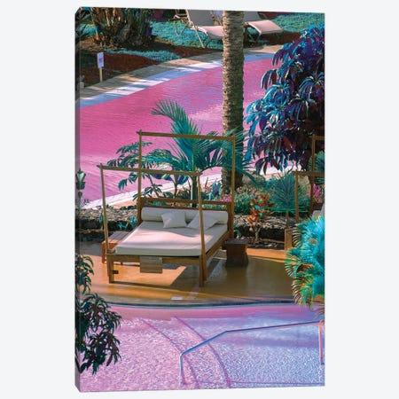 Virtual Paradise Canvas Print #NHE65} by Nathan Head Art Print