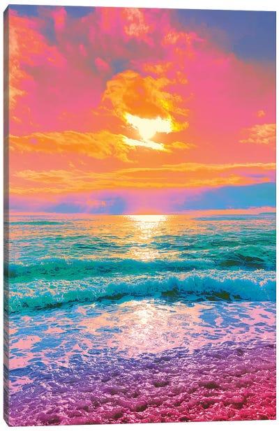 Catastrophic Beauty Canvas Art Print