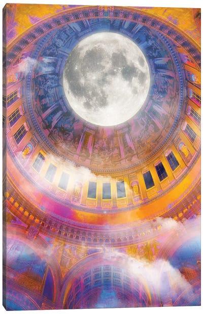 Moonlight Baptism Canvas Art Print