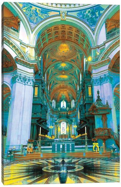 Visions Of Atlantis Canvas Art Print