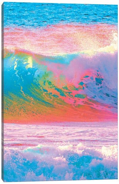 Waves Of Paint Canvas Art Print