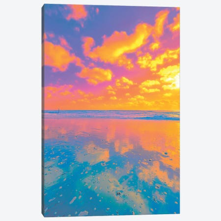 Counting Clouds Canvas Print #NHE95} by Nathan Head Canvas Art