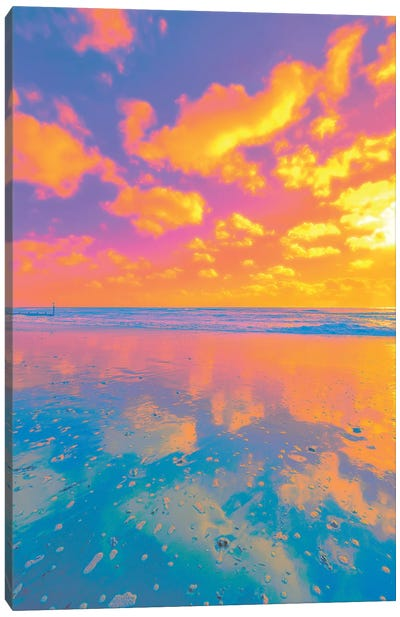 Counting Clouds Canvas Art Print