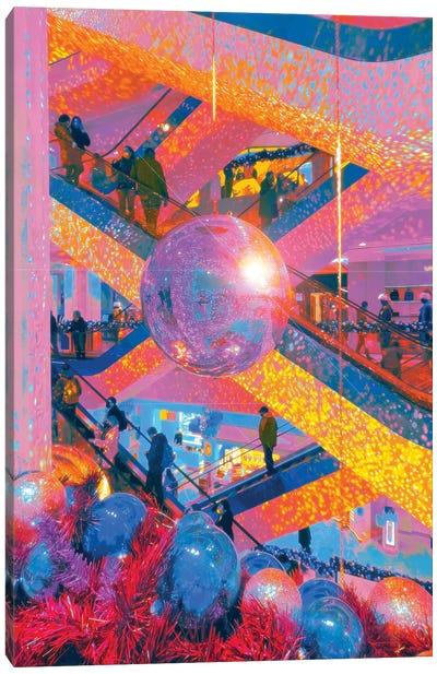 Disco Never Died Canvas Art Print