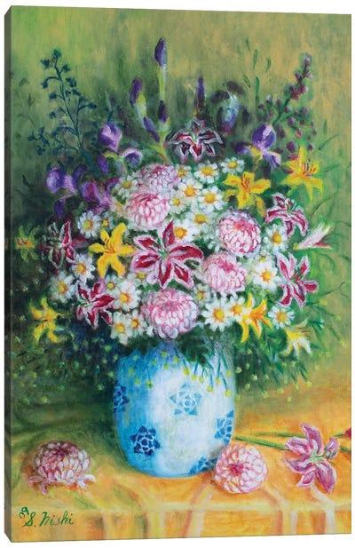 Friendship Bouquet Canvas Art Print
