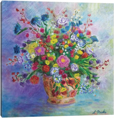 Lovely Bouquet Canvas Art Print