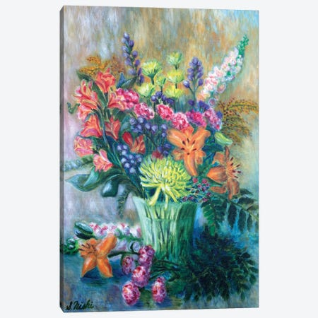 Majesty Canvas Print #NHI16} by Sam Nishi Canvas Art