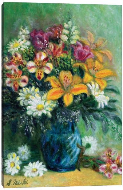 Morning Greeting Canvas Art Print