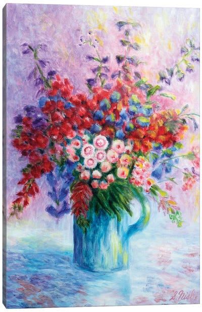 Quiet Bouquet Canvas Art Print