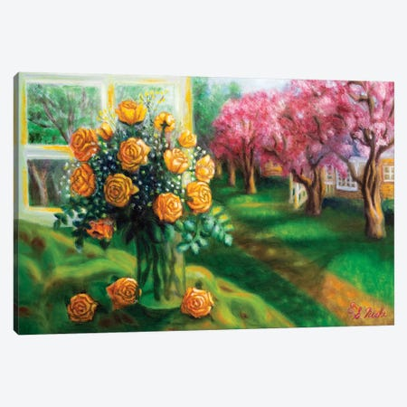 Springtime Canvas Print #NHI23} by Sam Nishi Canvas Artwork