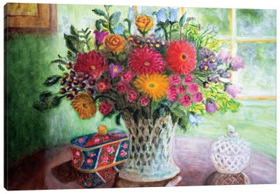 Study Of Light Canvas Art Print