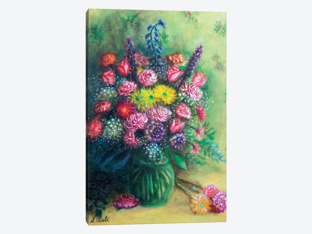 Thank You Bouquet by Sam Nishi 1-piece Canvas Print