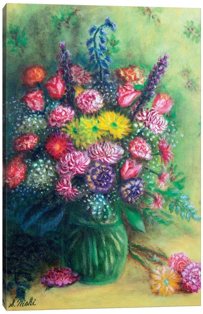Thank You Bouquet Canvas Art Print