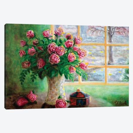 Valentine's Day Canvas Print #NHI27} by Sam Nishi Canvas Art Print