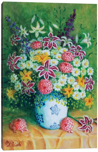 Bountiful Bouquet Canvas Art Print