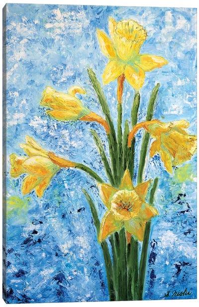 Daffodils Canvas Art Print