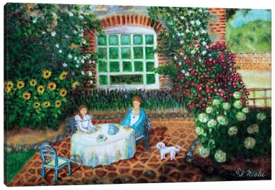 Morning Tea Canvas Art Print
