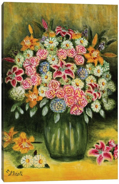 Summer Bouquet Canvas Art Print