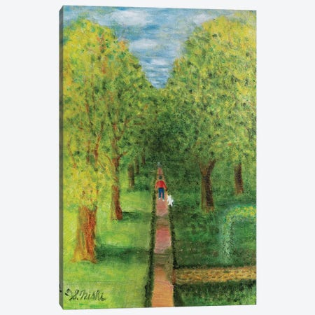 The Walk Canvas Print #NHI38} by Sam Nishi Canvas Art Print