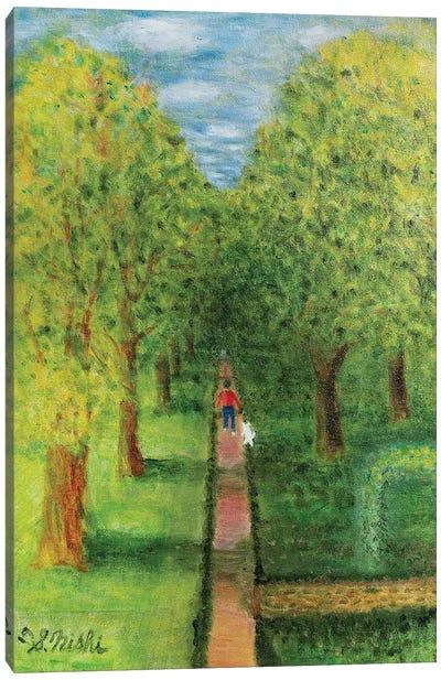 The Walk Canvas Art Print