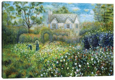 Country Cottage Canvas Art Print
