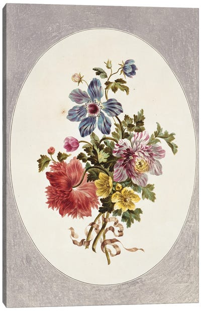 Folio 17 From A Collection Of Flowers By John Edwards Canvas Art Print