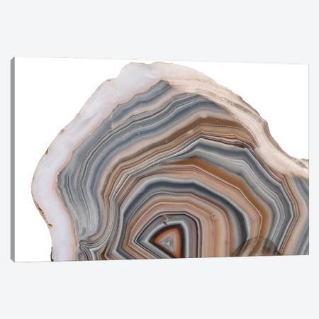 An Agate (Silicon Dioxide) Specimen From Germany, Held In The Natural History Museum, London Canvas Print #NHM52} by Natural History Museum (UK) Art Print
