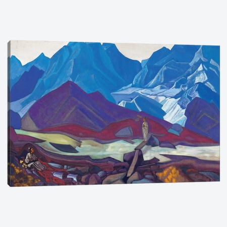 From Beyond, 1936 Canvas Print #NHR11} by Nicholas Roerich Canvas Artwork