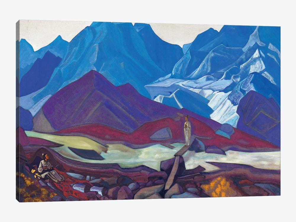 From Beyond, 1936 by Nicholas Roerich 1-piece Canvas Art