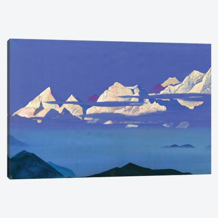Himalayas 1933 Canvas Print #NHR15} by Nicholas Roerich Art Print