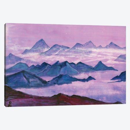 Himalayas, Album Leaf, 1934 Canvas Print #NHR17} by Nicholas Roerich Canvas Art Print