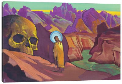 Issa And The Skull Of The Giant, 1932 Canvas Art Print