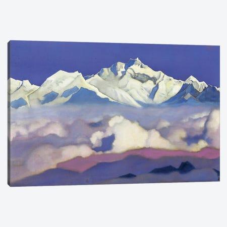 Kanchenjunga, 1936 Canvas Print #NHR20} by Nicholas Roerich Art Print