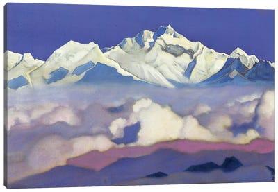 Kanchenjunga, 1936 Canvas Art Print