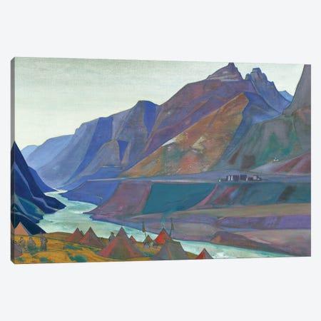 Koksar Camp, 1932 Canvas Print #NHR21} by Nicholas Roerich Canvas Print