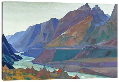 Koksar Camp, 1932 Canvas Art Print