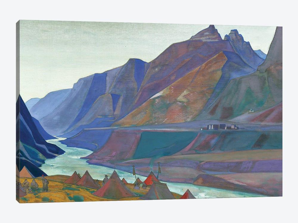 Koksar Camp, 1932 by Nicholas Roerich 1-piece Art Print