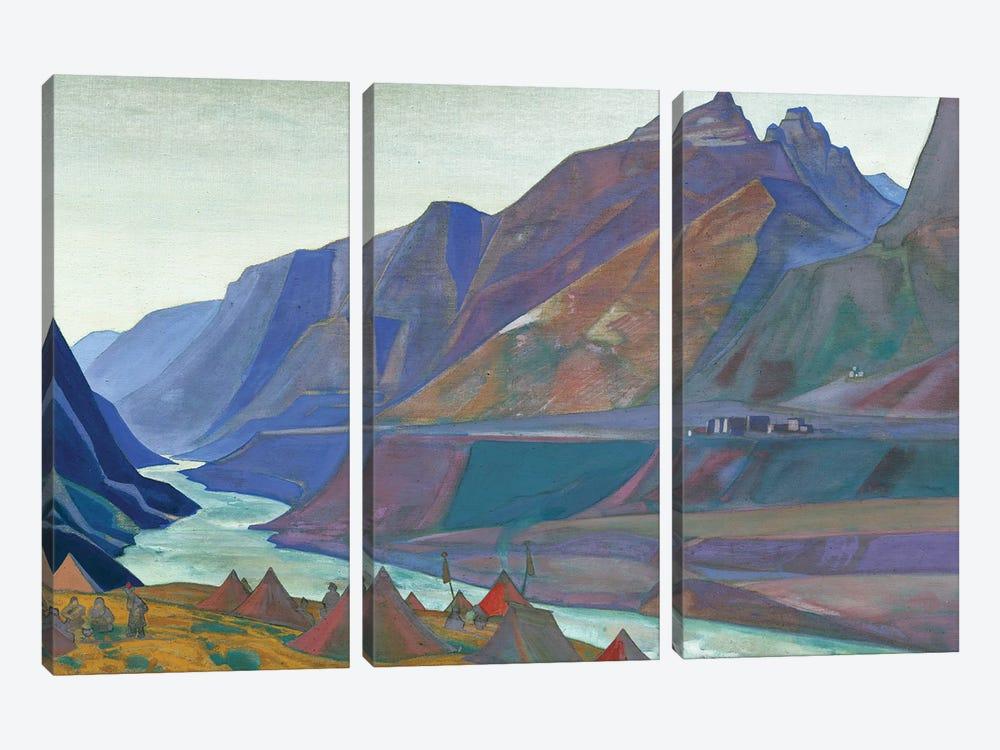 Koksar Camp, 1932 by Nicholas Roerich 3-piece Art Print