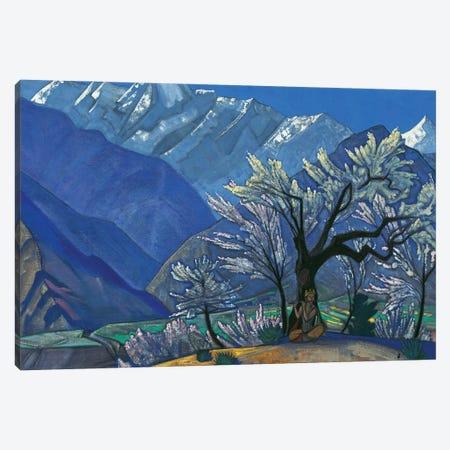 Krishna, 'Kulu' Series, 1929 Canvas Print #NHR22} by Nicholas Roerich Canvas Print