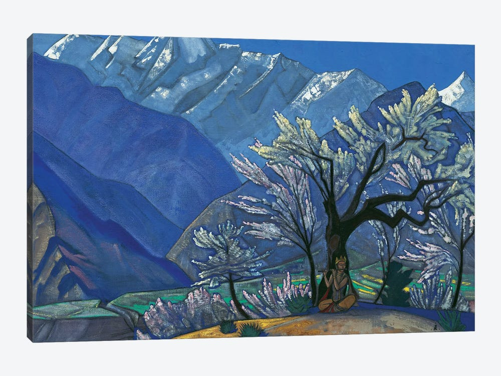 Krishna, 'Kulu' Series, 1929 by Nicholas Roerich 1-piece Canvas Wall Art
